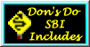 Don's Do SBI Includes Logo