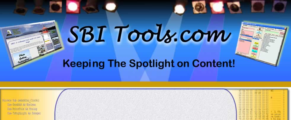 SBI Tools Stage Header Pix
